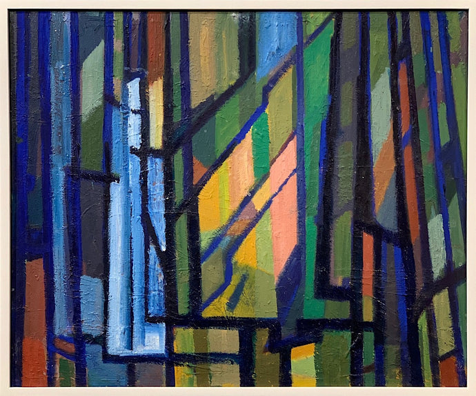 'Cubist Window Composition' by Stig Ryberg