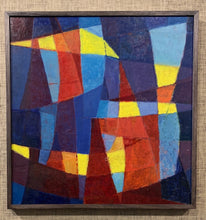 Load image into Gallery viewer, 'Abstract Composition in Blue, Red and Yellow' by Sune Skote