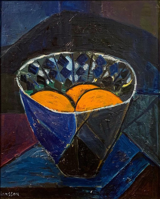 'Bowl of Oranges' by Svea Jansson