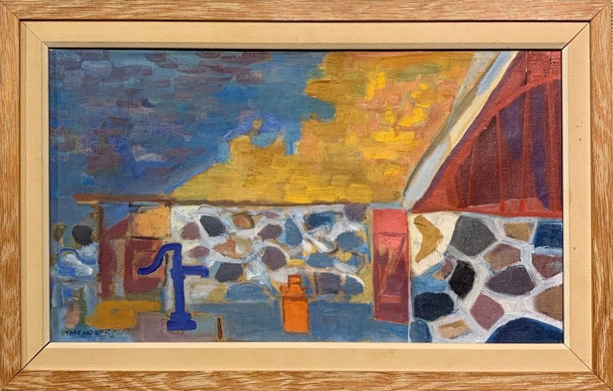 'Farmhouse in Björkeröd' by Tage Hedqvist