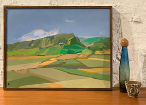 'Landscape - Fields and Hills' by Ulf Wikström