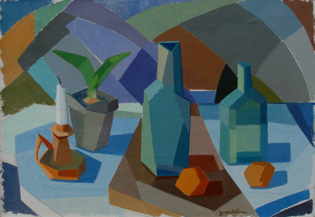 'Cubist Still Life' by Yngve Andersson