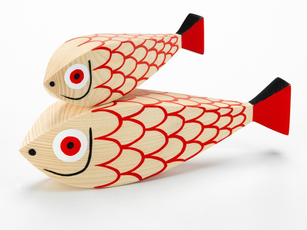 Mother Fish and Child by Alexander Girard