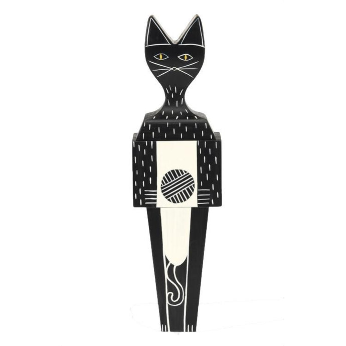 Wooden Doll - Cat by Alexander Girard