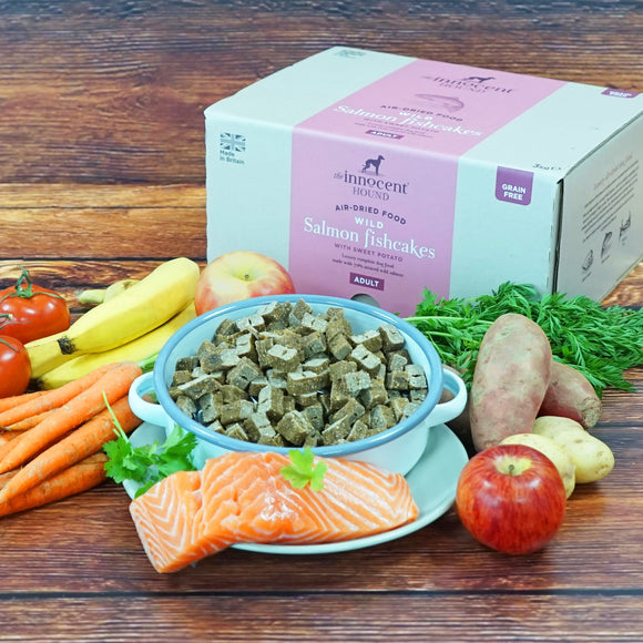 The Innocent Pet, Innocent Hound Wilson Salmon Fishcakes Air-dried Complete Food 3kg