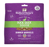 Stella & Chewy's Duck Duck Goose Freeze-Dried Raw Dinner Morsels