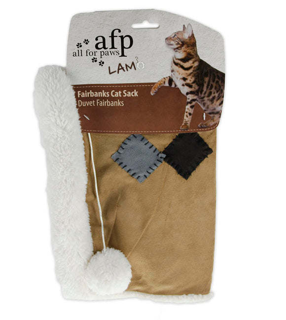 AFP Lambswool Fairbanks Cat Sack Brown