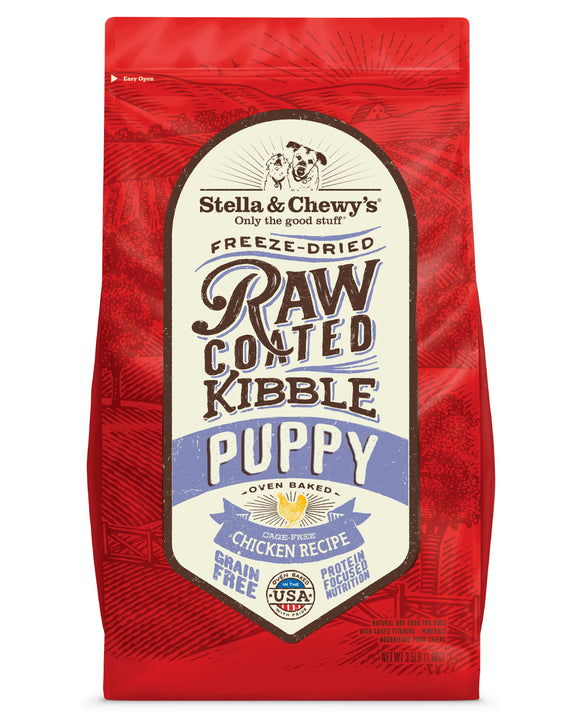 Stella & Chewy's Raw Coated Kibble - Puppy Chicken