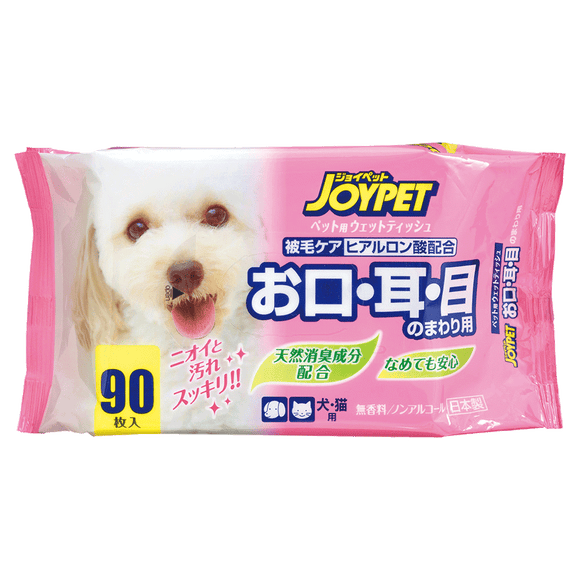 JoyPet Facial Wet Tissue 90pcs (20x12.8cm)