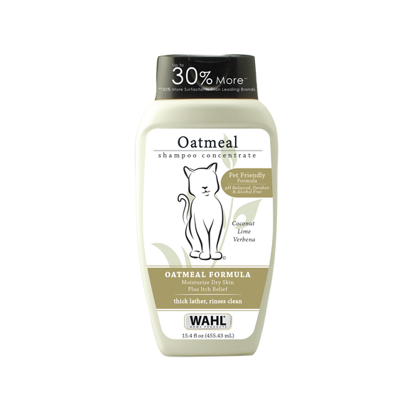 Wahl Oatmeal Cat Shampoo 15.4 fl oz