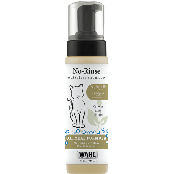 Wahl No-Rinse Waterless Cat Shampoo - Oatmeal 7.1 fl oz