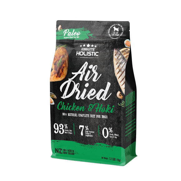 Absolute Holistic Air Dried Chicken & Hoki For Dog
