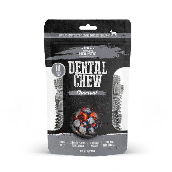 Absolute Holistic Dental Chew Value Pack Petite Size Charcoal 160g