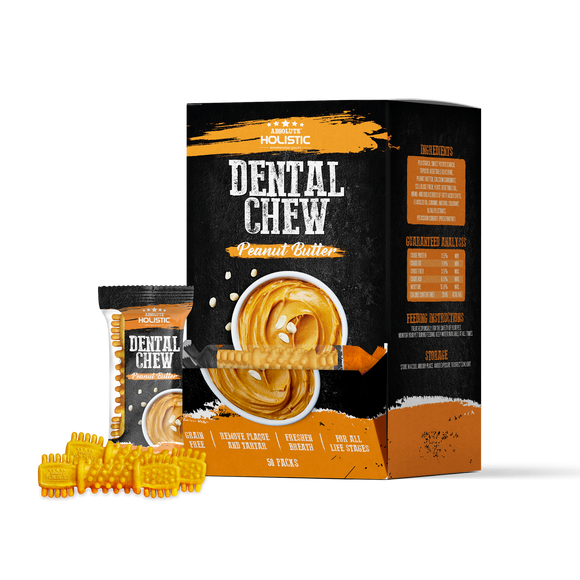 Absolute Holistic Dental Chew Peanut Butter 4