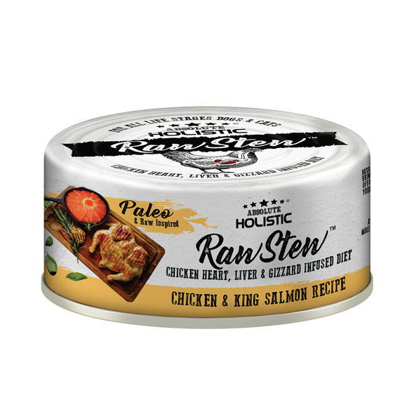 Absolute Holistic Rawstew Chicken & Salmon For Cats and Dogs
