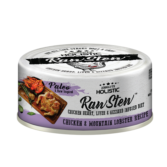 Absolute Holistic Rawstew Chicken & Lobster For Cats and Dogs