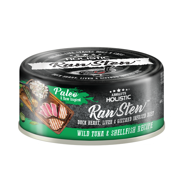 Absolute Holistic Rawstew Tuna & Shell Fish