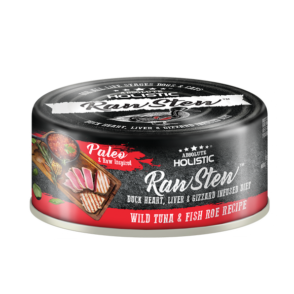 Absolute Holistic Rawstew Tuna & Fish Roe For Cats and Dogs