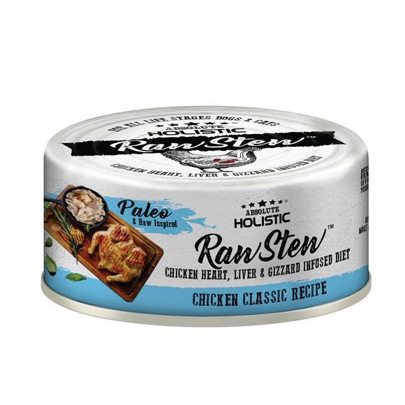 Absolute Holistic Rawstew Chicken Classic For Cats and Dogs