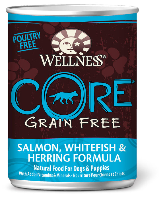 Wellness CORE Grain Free Salmon, Whitefish & Herring 12.5oz