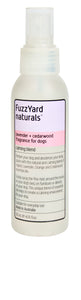 FuzzYard Lavender + Cedarwood, Calming Spray, Fragrance For Dogs