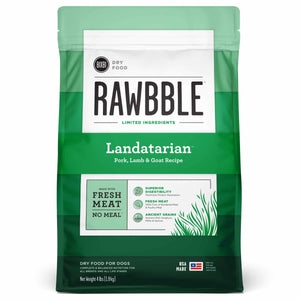BIXBI RAWBBLE Ancient Grain Dry Dog Food Landatarian (Pork, Lamb & Goat)