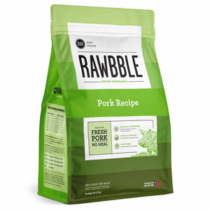 BIXBI RAWBBLE Grain Free DRY Dog Food Pork
