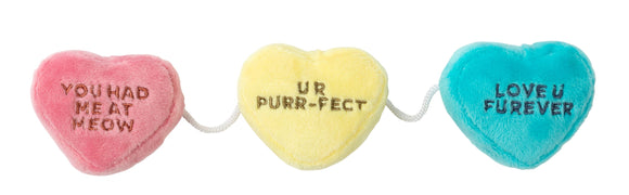 FuzzYard Cat Toy - Candy Hearts