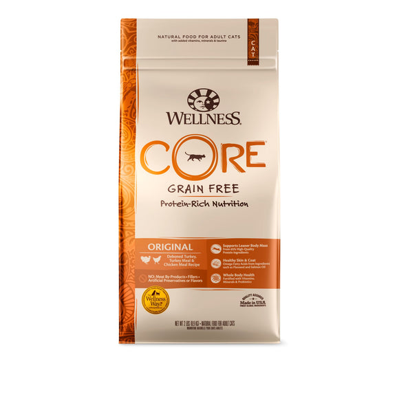 Wellness CORE Grain Free - Original (Deboned Turkey, Turkey Meal & Chicken Meal)