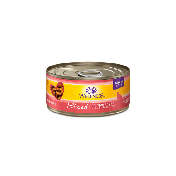 Wellness Complete Health Sliced - Salmon Entree 5.5oz