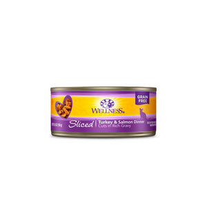 Wellness Complete Health Sliced - Turkey & Salmon Dinner 5.5oz