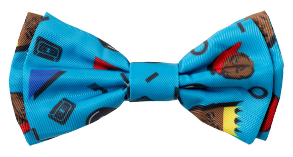 FuzzYard PET BOW TIE - Kings of Gold School