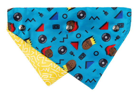 FuzzYard PET BANDANA - Kings of Gold School