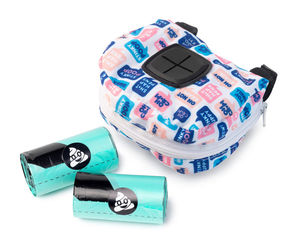 FuzzYard POOP DISPENSER BAG & ROLLS - What The Poop