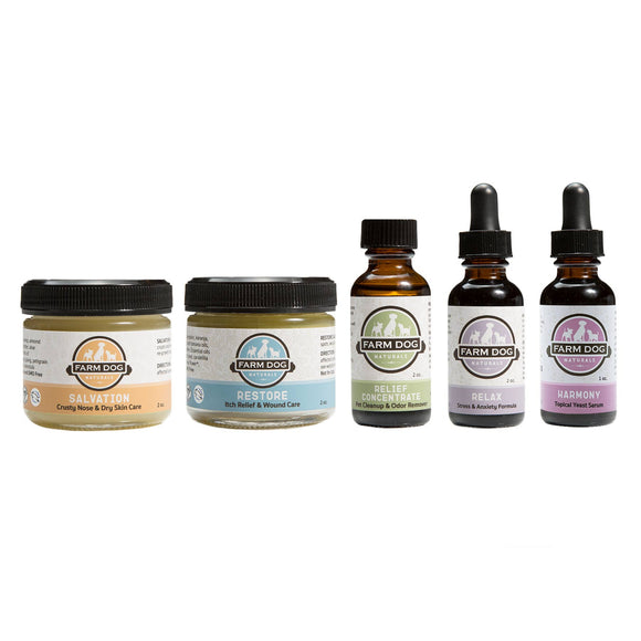Farm Dog Naturals Farm Fan Set