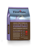 FirstMate Grain & Gluten Free, Free Run Chicken with Blueberries