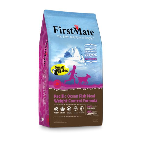 FirstMate Grain & Gluten Free, Pacific Ocean Fish Formula - Senior/Weight Control (Small Bites)