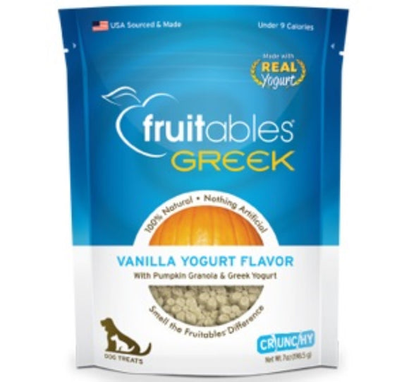 Fruitables Greek Vanilla Yogurt 7oz