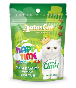 Aatas Cat Happy Time Ciao Tuna & Shrimp Flavour 60g