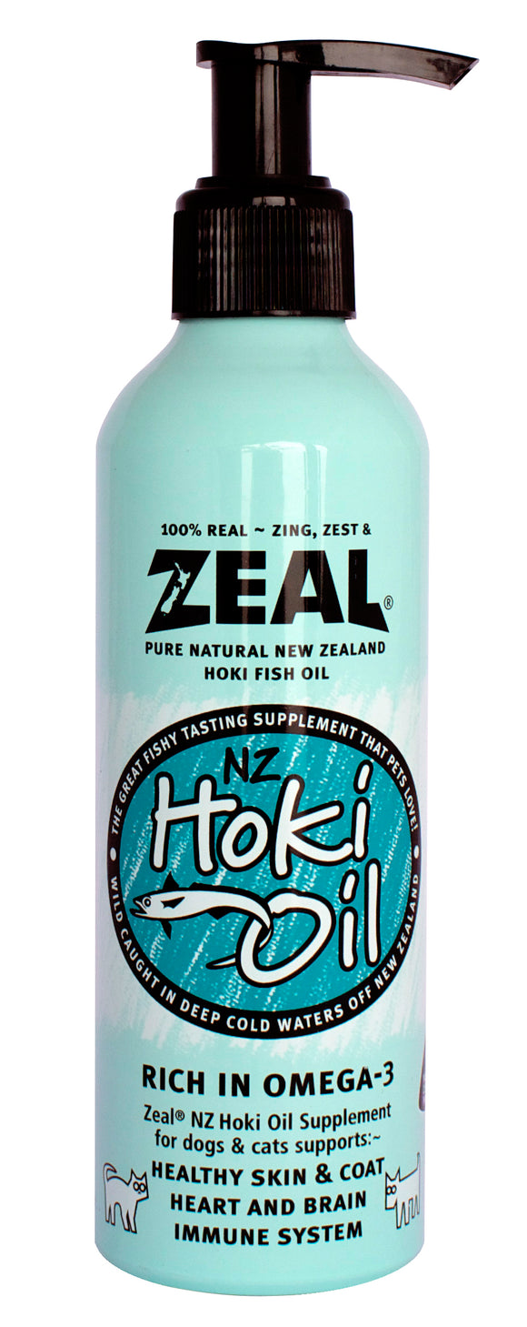ZEAL PURE NATURAL NEW ZEALAND HOKI FISH OIL 220ML