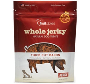 Fruitables Whole Jerky Thick Cut Bacon 5oz