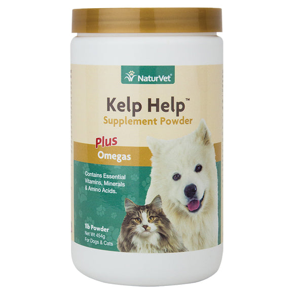NaturVet Kelp Help™ Supplement Powder Plus Omegas