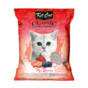 Kit Cat Classic Clump Cat Litter Mix Berry 10L/7kg