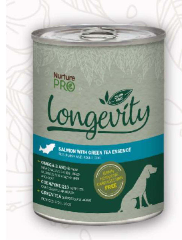 Nurture Pro Longevity Grain Free Salmon with Green Tea Essence 375g