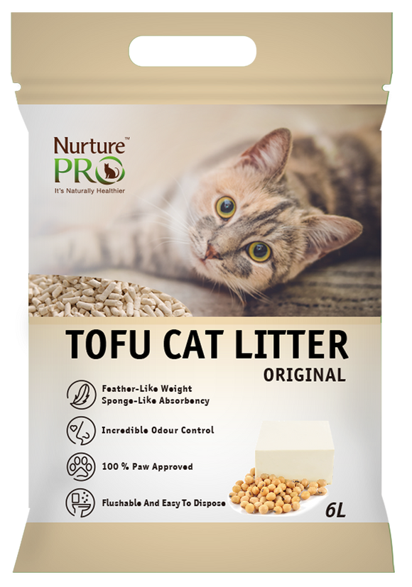 NURTURE PRO TOFU CAT LITTER ORIGINAL 6L