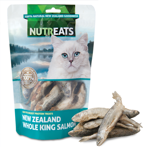 Nutreats Cat Treats-Whole King Salmon (50g)