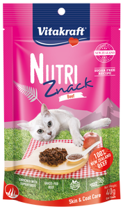 Vitakraft Nutri Znack Beef Skin & Coat Care Cat 40g