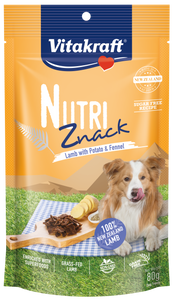 Vitakraft Nutri Znack Lamb w Potato & Fennel Dog 80g