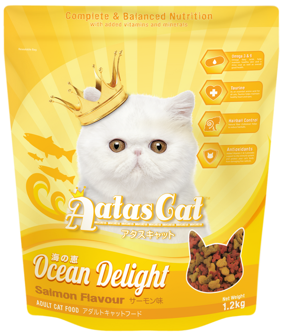 Aatas Cat Ocean Delight Salmon 1.2kg