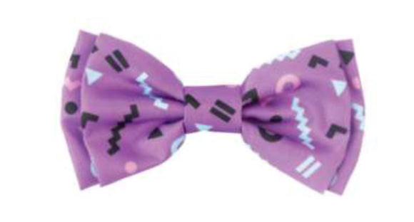 FuzzYard PET BOW TIE - Purple